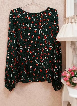 Стильная блуза в леопардовый принт