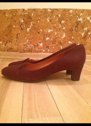 Туфли chie mihara, 42 р, кожа, новые