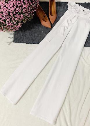 Новые штаны кюлоты с поясом