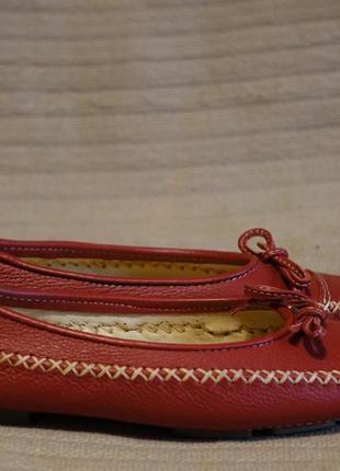 Очень симпатичные полностью кожаные красные мокасины nativa бразилия 37 р.