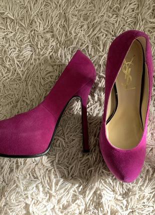 Туфли в стиле yves saint laurent