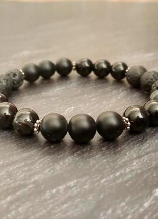 Перстни с черным камнем