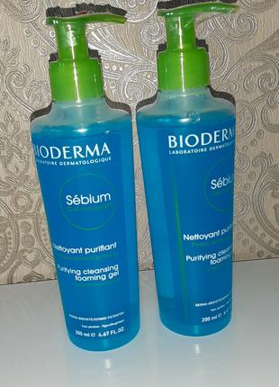 Bioderma  sebium гель для комбинированной/жирной кожи