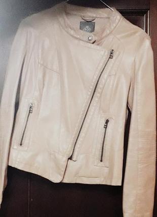 Женская кожаная куртка(100% телячья кожа)