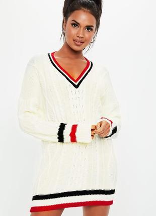 Missguided. товар из англии. платье свитер оверсайз в потрясающем дизайне.