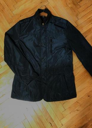 Брендовая мужская утеплённая куртка ostin оригинал ветровка демисезонная