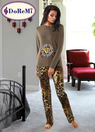 Леопардовая пижама/піжама