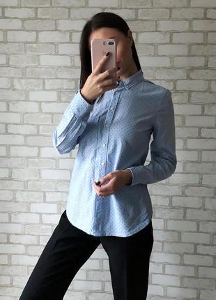 Рубашка gap в горошек