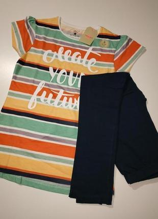 Комплект crafted лосины-футболка