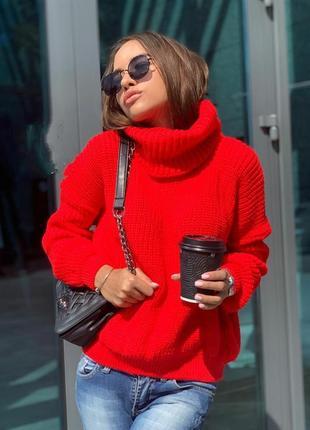 Объемные свитера в расцветках. теплые