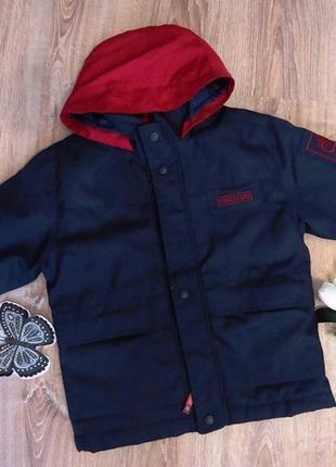 Timberland стильная куртка-парка на 3-5 лет.