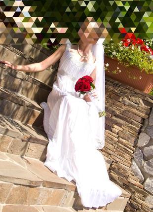 Свадебное платье в греческом стиле!!!
