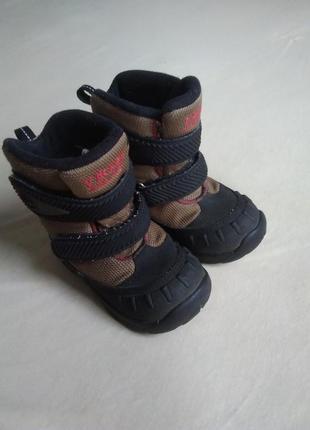 Р.23-24 термо ботинки сапожки мембранные зимние