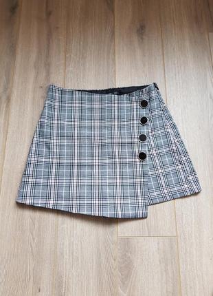 Шорты юбка stradivarius