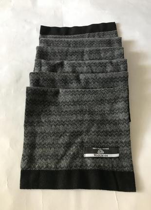 Стильний шерстяний шарф