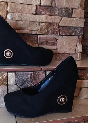 Женские туфли замш / босоножки