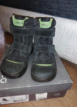 Ecco snow rush зимние ботинки экко размер 31