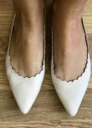 Туфли на низком ходу свадебные