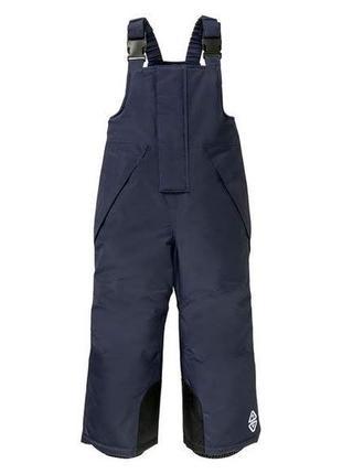 Функциональные зимние лыжные штаны на мальчиков, crivit lidl
