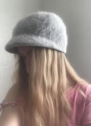 Крутая натуральная шапка кепка берет італія