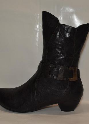 """Р.39 германия,""""think!"""",100% натуральная кожа! стильные,супер удобные ботинки сапоги"""