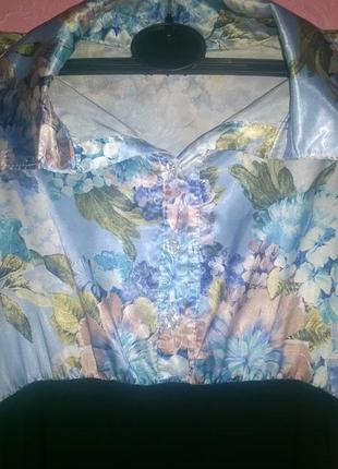 Офисная блузка. блузка шелк.рубашка шелк