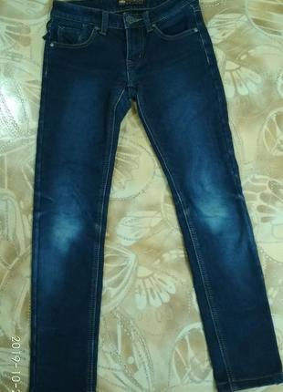 Утепленные джинсы для девочки