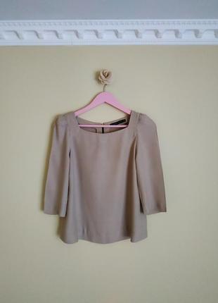 Блузка /блуза/ кофта пудровая зара