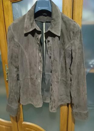 Куртка рубашка пиджак нат замш рр48-50 наш