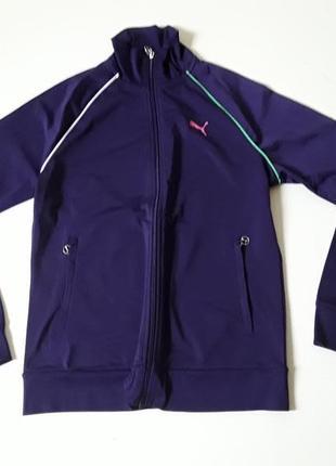 Фиолетовая  новая  олимпийка