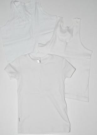 Набор футболка + 2 майки