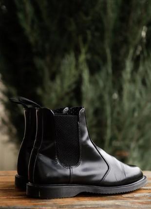 Кожаные ботинки, челси dr. martens flora оригинал!