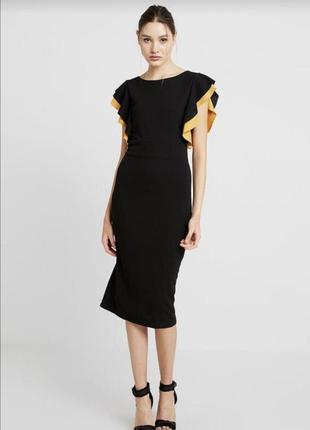 Платье облегающее миди wal g