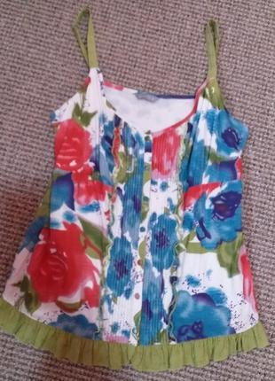 Красивая натуральная блуза раз.14