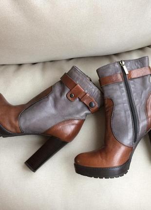 Оригинал geox respira стильные ботинки натуральная кожа кожаные