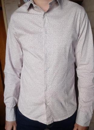 Фирменная итальянская рубашка