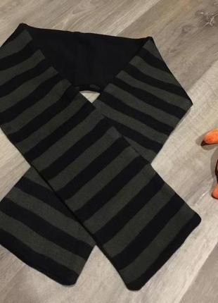 Теплый двойной шарф  от primark , акрил. размер универсальный.