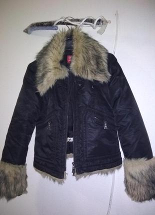 Отличная короткая куртка осень обмен