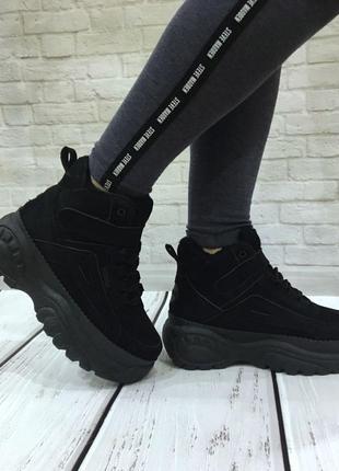 Зимние кроссовки на платформе р.36 маломерят