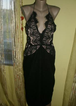 Ексклюзив!!! шикарнейше плаття-міді rare london ніжне кружево,