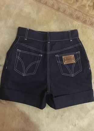 Брендовые итальянские  джинсовые шорты