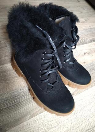 Стильные зимние ботиночки!  акционная цена