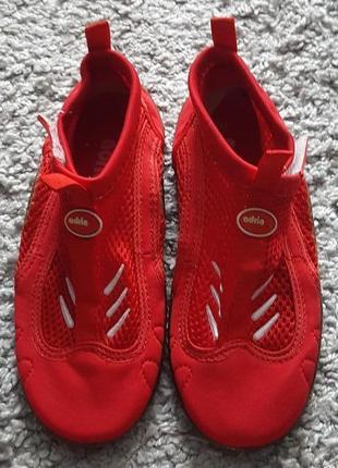 Новые,мягкие,фирменные аквашузы-коралки-обувь для пляжа adria