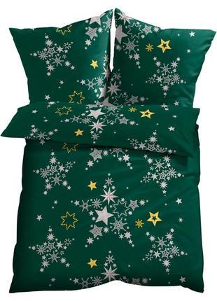 """Комплект постільної білизни """" зірки """"  із натуральної  хлопкової  тканини."""