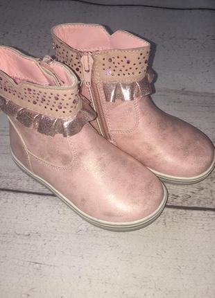 Осенние ботинки, сапожки новые