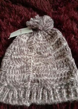 Теплая шапка осень весна на 2 года -5 лет
