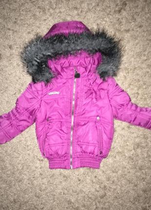 Демисезонная куртка для девочки 2 года