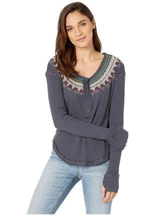 Кофта free people fair isle thermal