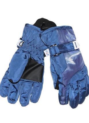 Зимние перчатки с принтом для мальчика 20см, yo, rn-070
