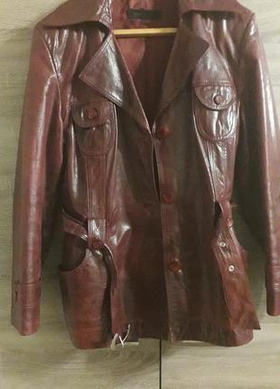 Курточка кожаная  , пиджак